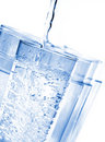 Water Glasses Royalty Free Stock Photo