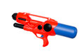 Water gun on white Royalty Free Stock Photo
