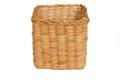 Water hyacinth weave basket in thailand Royalty Free Stock Image