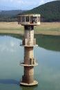 Water intake tower Royalty Free Stock Image