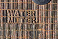 Water meter Royalty Free Stock Images