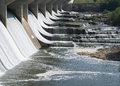 Water over the Dam Royalty Free Stock Photo