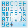 Water Pipe Alphabet Font Character Royalty Free Stock Photo