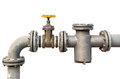 Water pipe valve Royalty Free Stock Photo