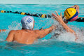 Water polo action Stock Photography