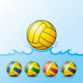 Water Polo balls Royalty Free Stock Photo