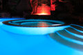 Water Pool At Night Royalty Free Stock Photo
