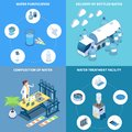 Water Purification Isometric Design Concept