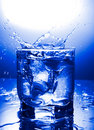 Water refreshing Royalty Free Stock Image