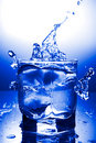 Water refreshing Royalty Free Stock Images