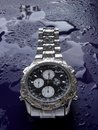 Water resistant watch Royalty Free Stock Photo