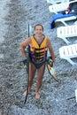 Water skiing Royalty Free Stock Photo