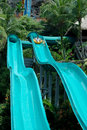Water slide Stock Image