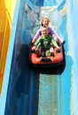 Water slide Royalty Free Stock Image