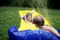 Water Slip-N-Slide Stock Image