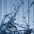 Water splash close-up Royalty Free Stock Photo