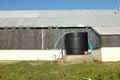 Water storage tank. Royalty Free Stock Photo