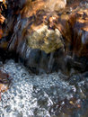 Water stream - ecology Stock Image