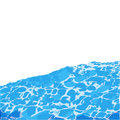 Water surface background caustic texture . Royalty Free Stock Photo