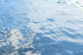 Water surface with ripples Royalty Free Stock Photo