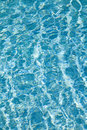 Water in the swimming pool Royalty Free Stock Images