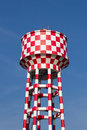 Water tank checkered Royalty Free Stock Image