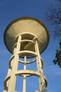 Water tank old with blue sky Stock Images