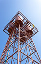 Water tank tower Stock Image