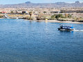 Water taxi laughlin nevada on the colorado river Royalty Free Stock Images