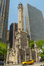 Water Tower in Chicago. Royalty Free Stock Photo