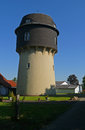 Water tower in detmold germany Stock Images