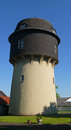 Water tower in detmold germany Royalty Free Stock Photos