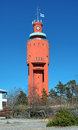Water tower in Hanko, Finland Stock Photography
