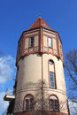 Water tower in kiel historic germany Stock Images