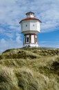 Water tower of langeoog germany in the dunes the east frisian island lower saxony Royalty Free Stock Photography