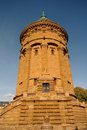 Water Tower in Mannheim, Germany Royalty Free Stock Photo