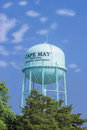 Water tower, sea resort of Cape May, New Jersey, USA Royalty Free Stock Photo
