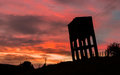 Water Tower Sunset Royalty Free Stock Photo