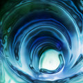 Water twirl Royalty Free Stock Image
