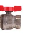 Water valve close up. Royalty Free Stock Photo