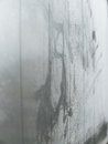 Water vapor condensation on the window Stock Images