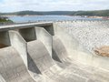 Water vault with dam in Perth. Stock Image