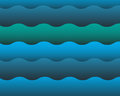 Water wave background abstract blue Royalty Free Stock Image