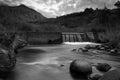 Water Weir in the Uklahamba Drakensberg