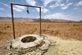 Water well in Sahara Desert, Morocco Royalty Free Stock Photo