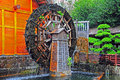 Water wheel Stock Images