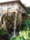Water Wheel Stock Photography