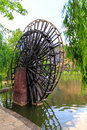 Water wheel ancient no longer in use Royalty Free Stock Photos