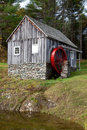 Water Wheel Mill Royalty Free Stock Photo