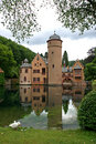 Watercastle Mespelbrunn Royalty Free Stock Photo